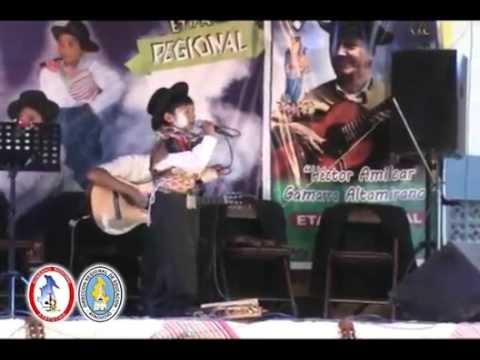 XXI Festival de la cancion ayacuchana Carnaval Nivel primaria   Vilcashuamán