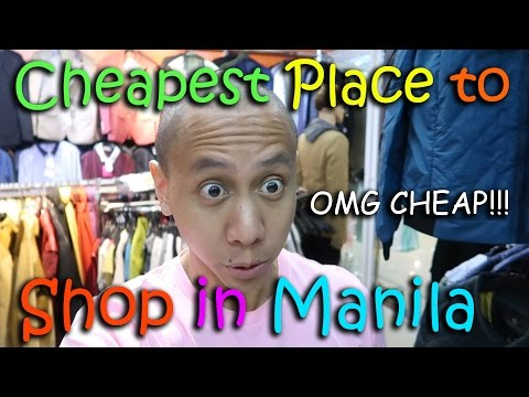 THE CHEAPEST PLACE TO SHOP IN MANILA! | March 4th, 2017 | Vlog #44