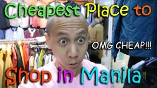 Video THE CHEAPEST PLACE TO SHOP IN MANILA! | March 4th, 2017 | Vlog #44 download MP3, 3GP, MP4, WEBM, AVI, FLV Agustus 2017