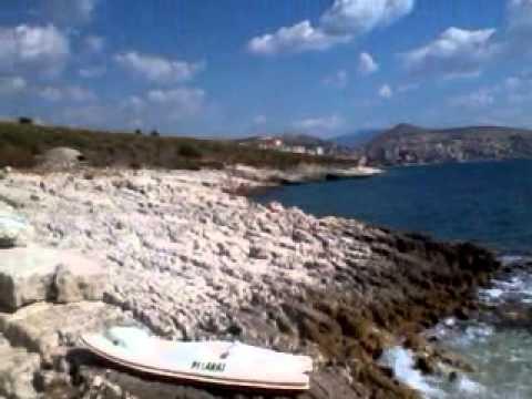 Marine beach sarande albania
