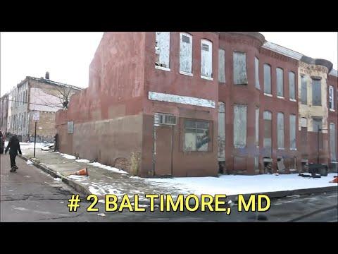 TOP 5 ABANDONED US CITIES / HOODS