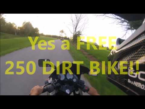How To Win A Free Dirt Bike Must Watch Youtube