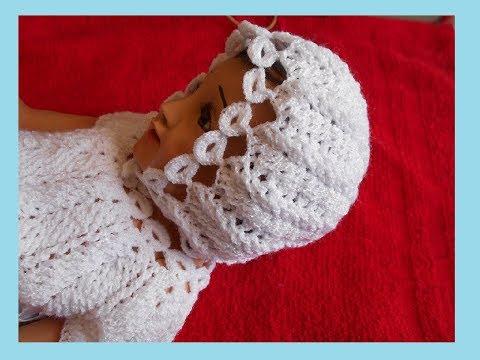 Gorro A Crochet Para Niño Jesús O Niño Dios En Punto Espiga