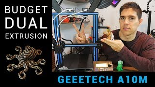 Geeetech A10M dual extrusion 3D printer - Incredibly capable, but is it for everyone?