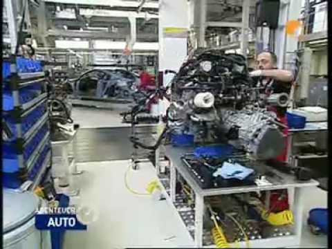 Audi R8 Produktion in Neckarsulm