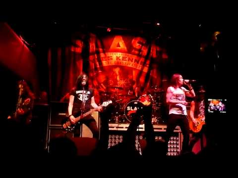 "Slash & Myles Kennedy NEW First Time Live ""Apocalyptic Love"" @ The Brick in Minneapolis 05/14/2012"