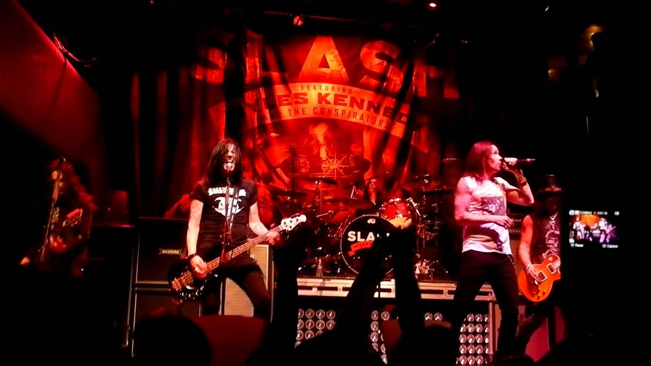 Slash Amp Myles Kennedy New First Time Live Quot Apocalyptic