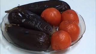 Салат армянский с баклажанами к шашлыку
