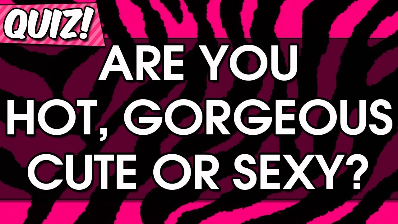 Are you sexy test
