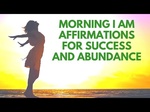 Morning AFFIRMATIONS for SUCCESS and Abundance | 21 Day Challenge