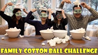 Family Cotton Ball Challenge (WK 306.2) | Bratayley