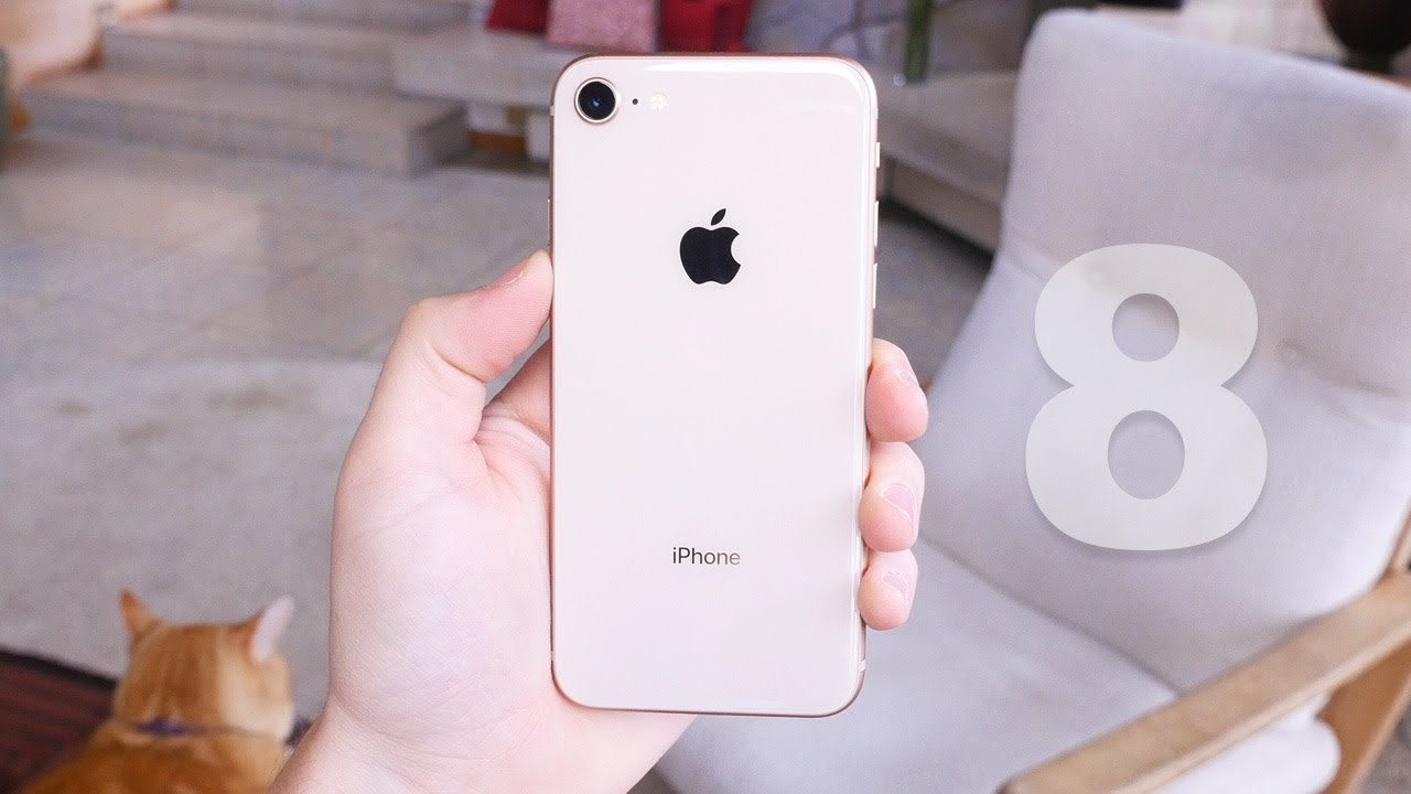 Apple Iphone 8 First Look Gold Youtube