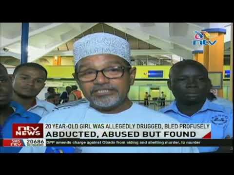 20-year-old Saida Abdirahman flown to Mombasa, still of ill health.