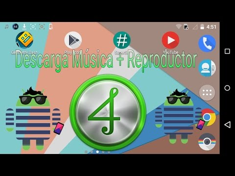 Descarga musica + Reproductor  4shared