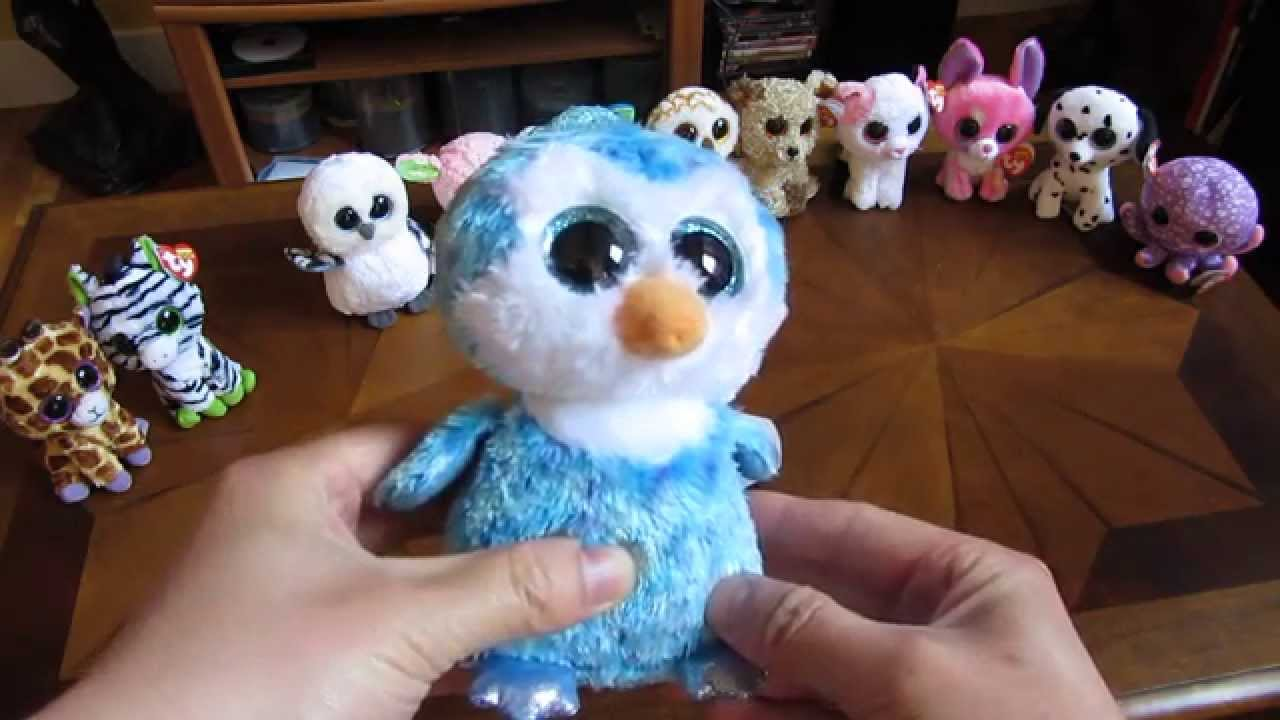 Beanie Boos In Hd Ice Cube The Penguin Detailed Review Regular 5