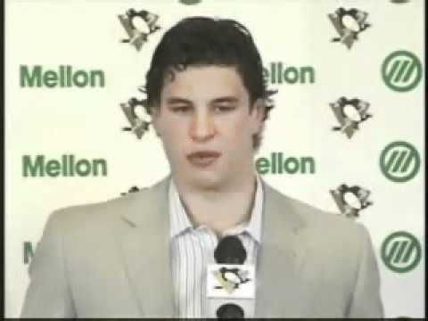 Sidney Crosby named Captain of the Pittsburgh Penguins
