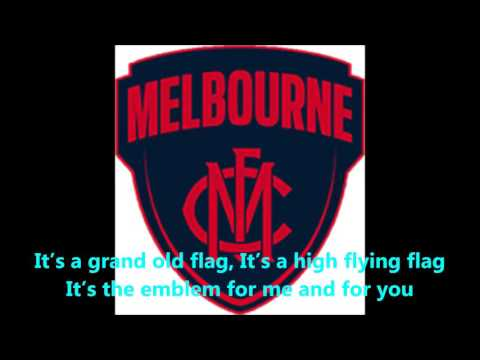 Melbourne Demons theme song (Lyrics) AFL Sing-A-Long