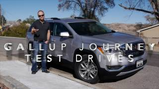 2017 GMC Acadia SLE-2 AWD: Still the best crossover?  Real World Review and Test Drive