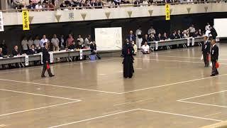 平成29年度 東京 全日本 剣道 予選 警視庁 越川 竹ノ内.