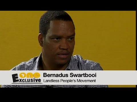The Landless People's Movement explained by Bernadus Swartbooi