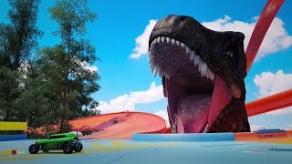 FH3- T-REX!!!! (HOT WHEELS)