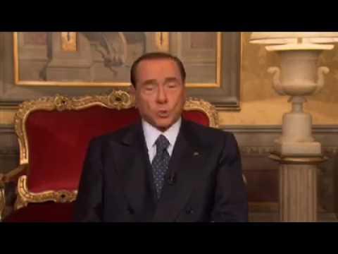 LECCE2017: MESSAGGIO BERLUSCONI AI LECCESI E L'AUGURIO A MAURO GILIBERTI