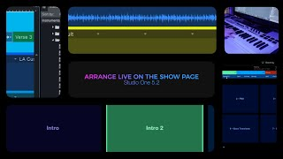 Studio One 5.2: Arrange Live on the Show Page