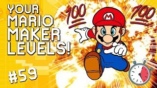 THE PERFECT RUN: YOUR Mario Maker Levels #59
