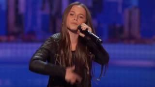 11-Year-Old Rapper Performs Original Im Fresh - Americas Got Talent 2016