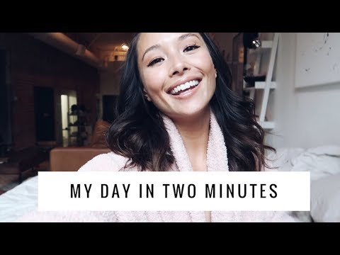 My Day In Two Minutes Vlog | May 21, 2018 | Aja Dang