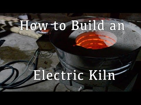 How to Build a Digitally Controlled Electric Kiln/Foundry