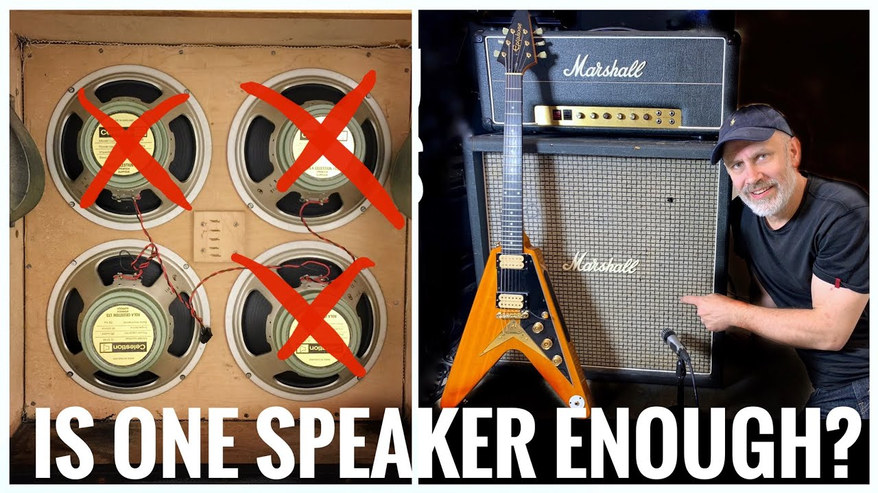 Download Does a 4x12 with ONLY ONE Speaker STILL sound like a 4x12?