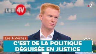 C'EST DE LA POLITIQUE DÉGUISÉE EN JUSTICE – Adrien Quatennens