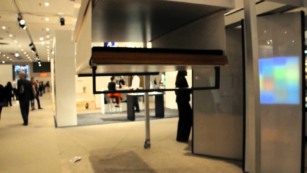 Drop Down Bed At The Icff 2012 Youtube