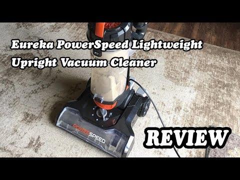 Eureka PowerSpeed Lightweight Upright Vacuum Cleaner  - Test 2019