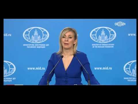М. Захарова  - арцах(Карабах) не место туризма а зона  войны