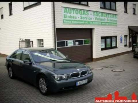 bmw 735i e65 2004 umger stet in n rnberg auf autogas youtube. Black Bedroom Furniture Sets. Home Design Ideas