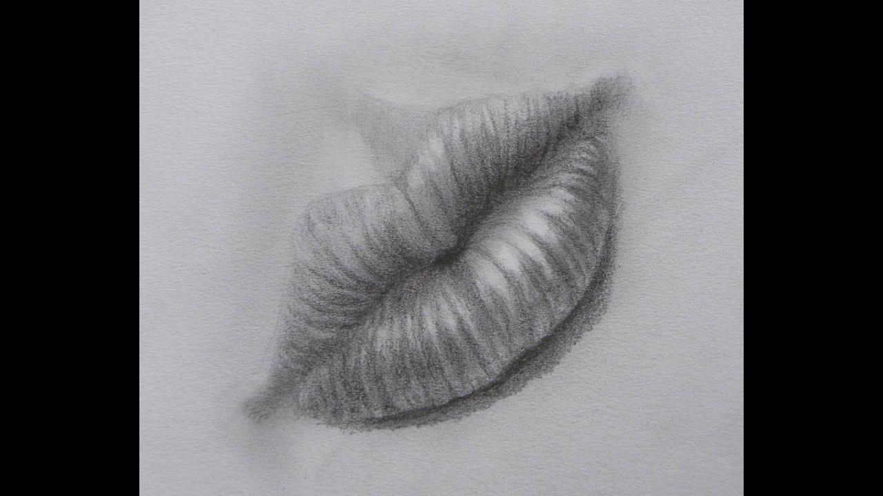 Cmo dibujar una boca labios  Arte Divierte  YouTube