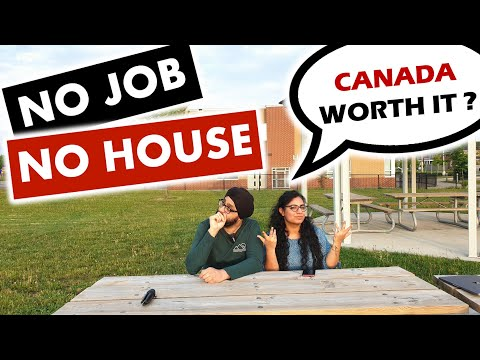 We left our high paying jobs and came to CANADA 🇨🇦 - Worth i