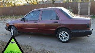 Продам АВТО ФОРД Сиерра Ford Sierra 1990 Тест драйв