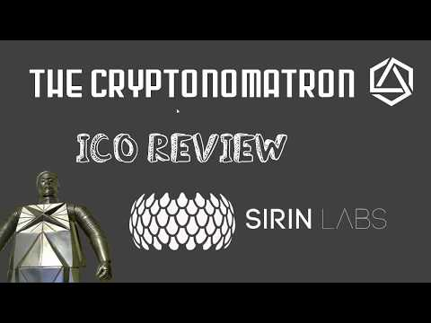 SIRIN LABS ICO Review! FINNEY the first open source blockchain smartphone!