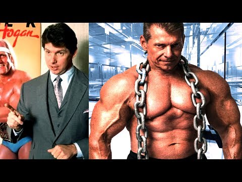Vince McMahon - Transformation From 16 To 71 Years Old