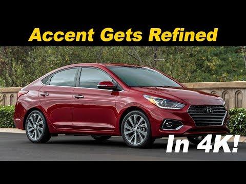 2018 Hyundai Accent Review / Comparison