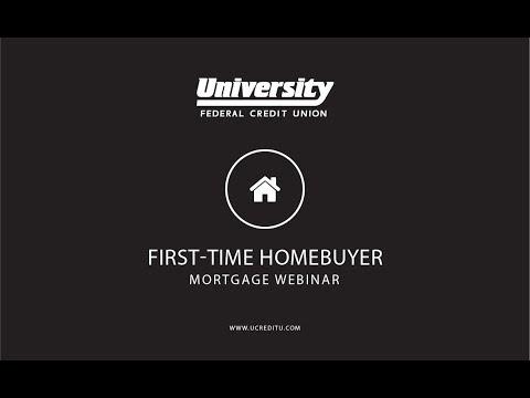 University Credit Union Mortgage Webinar January 23rd, 2018 at 2:30