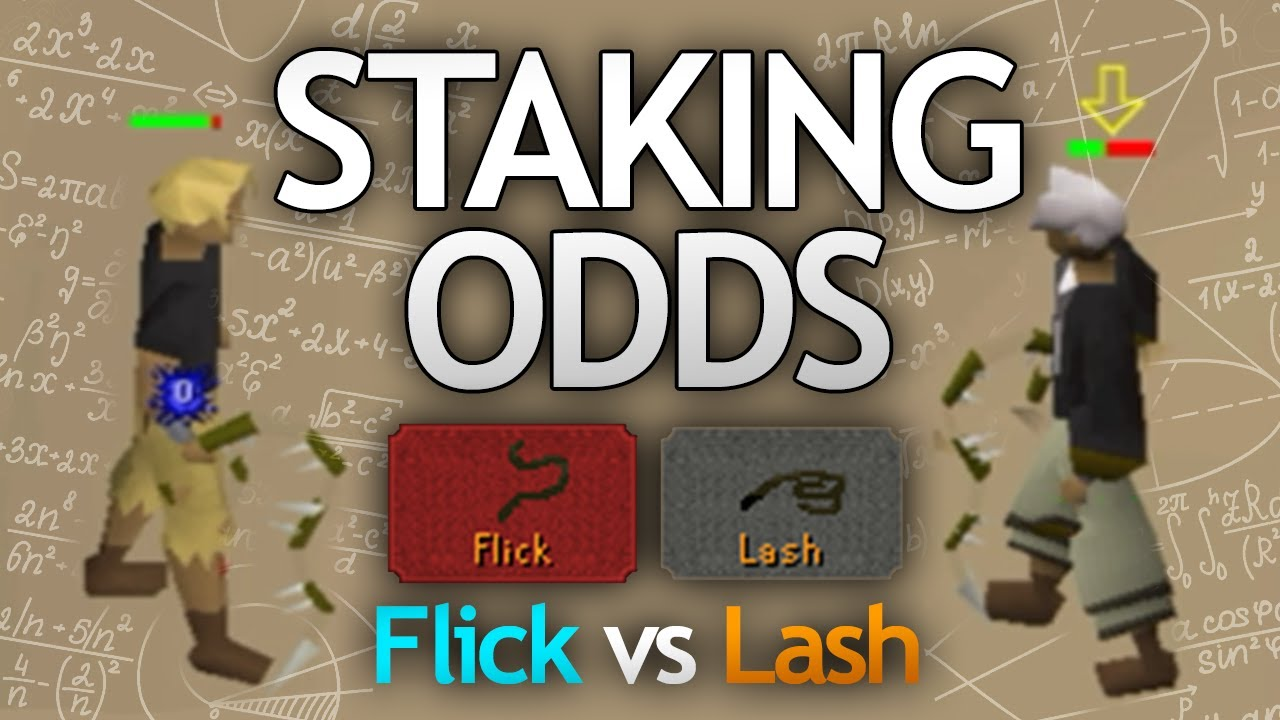 Staking Odds Confirmed (Flick vs Lash)