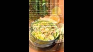 Рецепты салатов:Картофельный салат с копченой скумбрией и яблоком