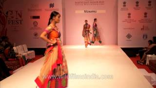 Gambar cover Bright and bold colour outfits by designers MonaPali at NEDF