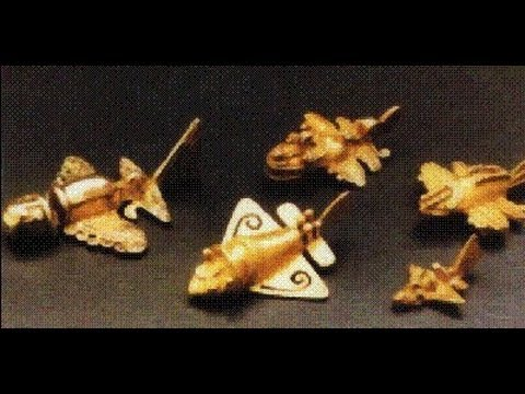 Colombia Ancient Aircraft Figurines
