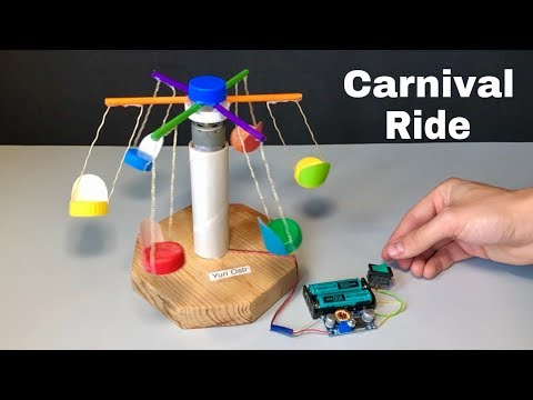 How To Make A Carnival Ride For Kids - DIY Miniature Kids Ride