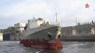 ВОЕННАЯ ПРИЁМКА Противопиратский корабль.